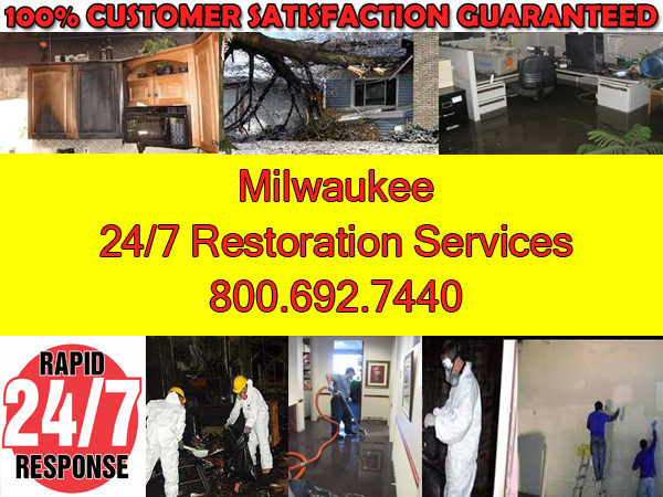milwaukee fire wind water damage cleanup