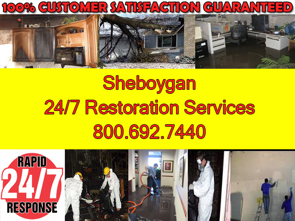 sheboygan wisconsin fire wind water cleanup repairs