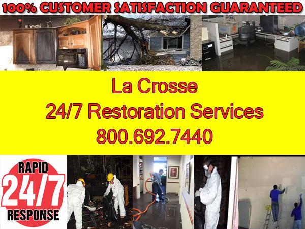 lacrosse fire water flood damage emergency restoration
