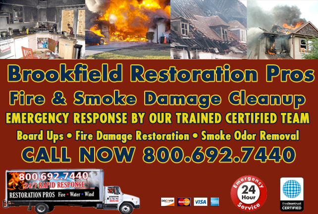 Brookfield fire damage repair