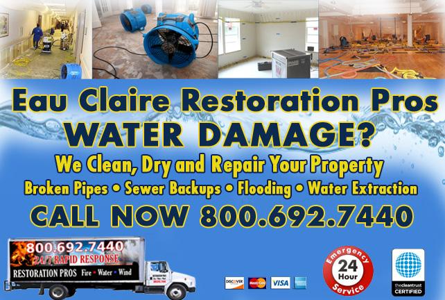 Eau Claire water damage restoration