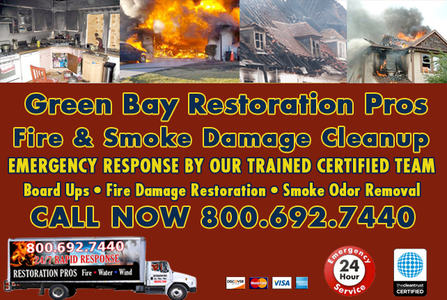 Green Bay fire damage repair