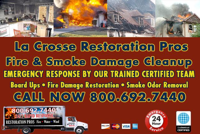 La Crosse fire damage repair