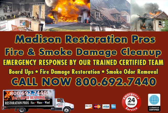 Madison fire damage repair