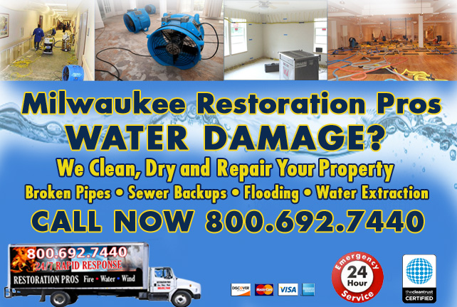 Milwaukee water damage restoration
