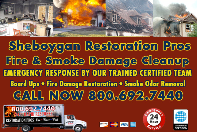 Sheboygan fire damage repair