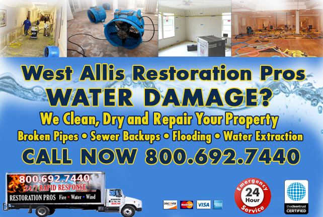 west allis water damage restoration