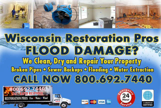 wisconsin flooded basement cleanup